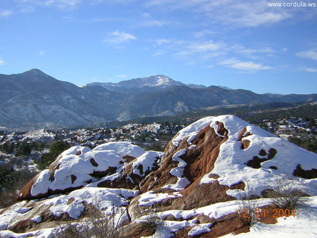 Cordula's Web. Flickr. Much more snow, Pikes Peak? Colorado Springs.