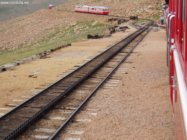 Cordula's Web. Flickr. Cog Railway to Pikes Peak.