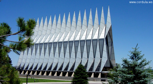 Cordula's Web. Flickr. Chapel in the Air (Force). Air Force Academy (AFA), Colorado Springs.