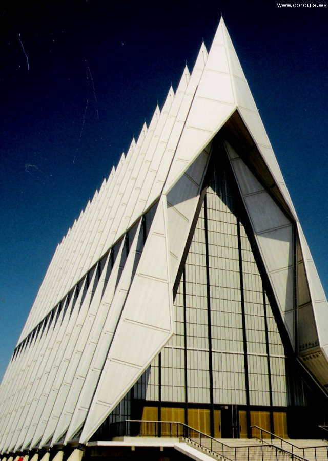 Cordula's Web. Flickr. Air Force Academy (AFA) Chapel, Colorado Springs.