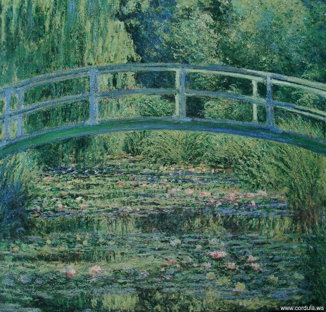 Cordula's Web. Claude Monet: The Japanese Bridge, 1899.