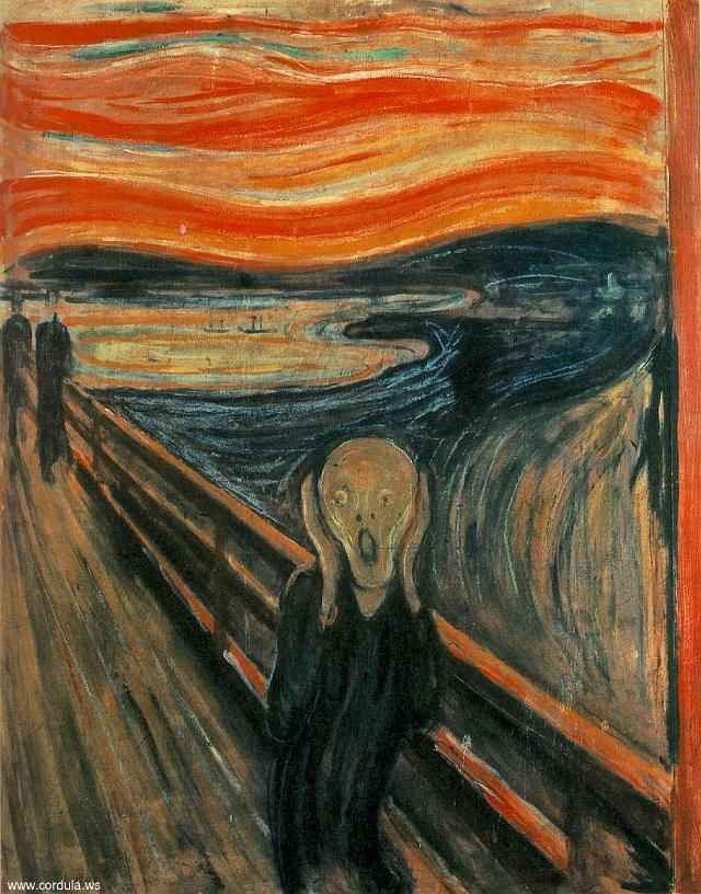 Cordula's Web. Edvard Munch: The Scream