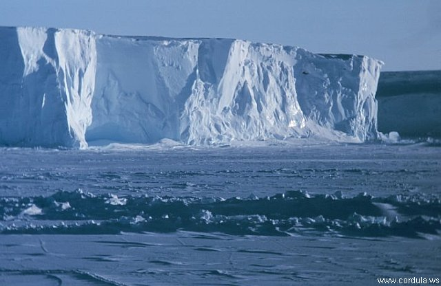 Cordula's Web. NOAA. The Ross Ice Shelf at the Bay of Whales, Antarctica.