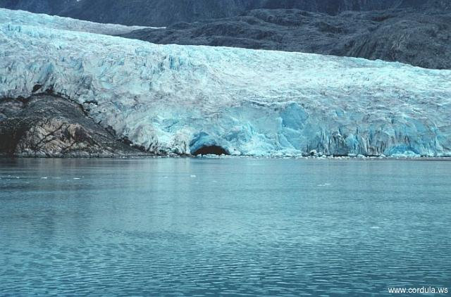 Cordula's Web. NOAA. Riggs Glacier at the east end of Muir Inlet.