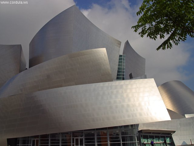 Cordula's Web. PDPHOTO.ORG. Disney Concert Hall, Los Angeles.