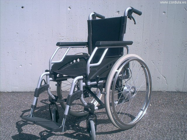 Cordula's Web. Wikicommons. Wheelchair.